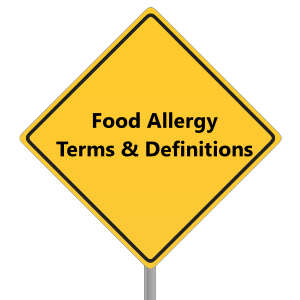 food-allergy-terms-definitions