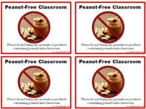 peanut-free-poster-medium
