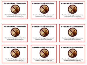 peanut-free-poster-small