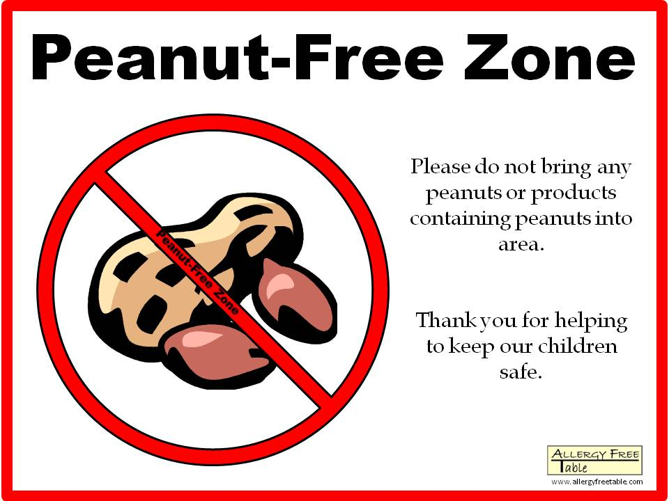 Peanut Sign